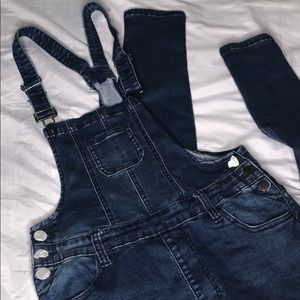 Denim overall BRAND NEW with tags